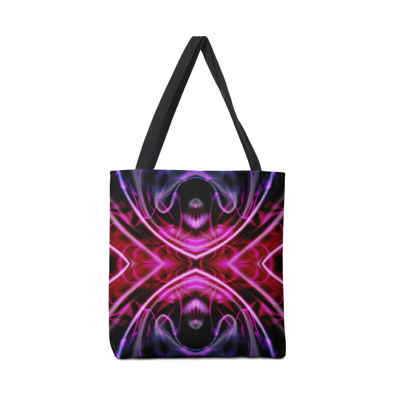 Neon Reflection Accessories Bag by foxandeagle's Artist Shop