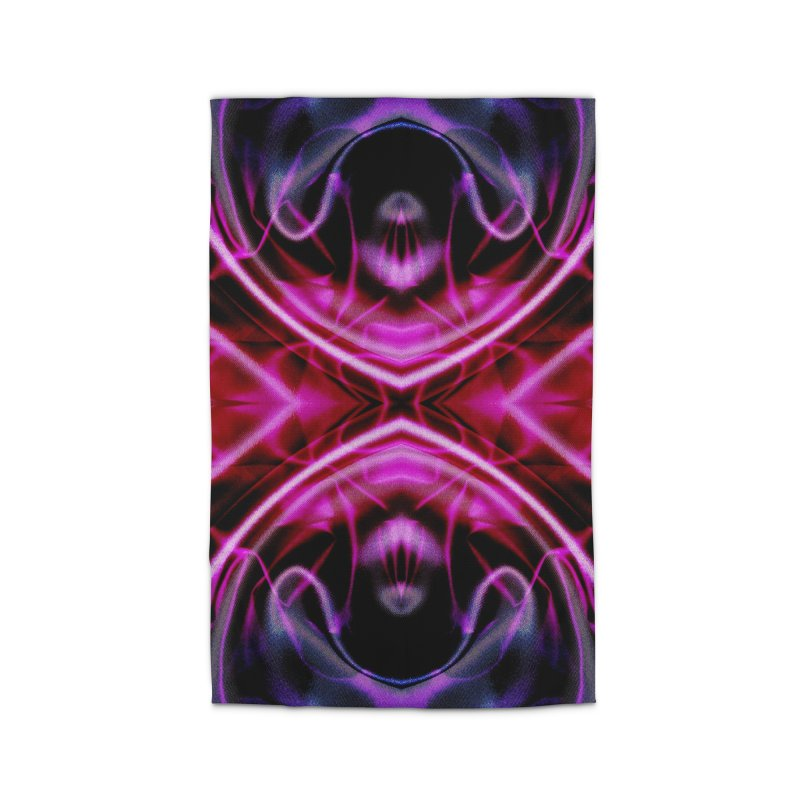 Neon Reflection Home Rug by foxandeagle's Artist Shop