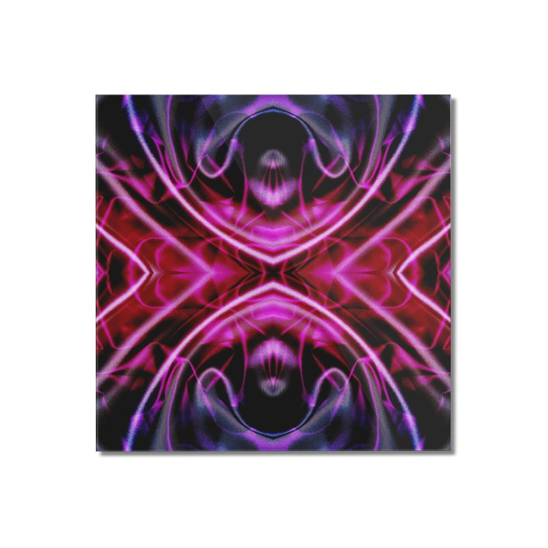 Neon Reflection Home Mounted Acrylic Print by foxandeagle's Artist Shop