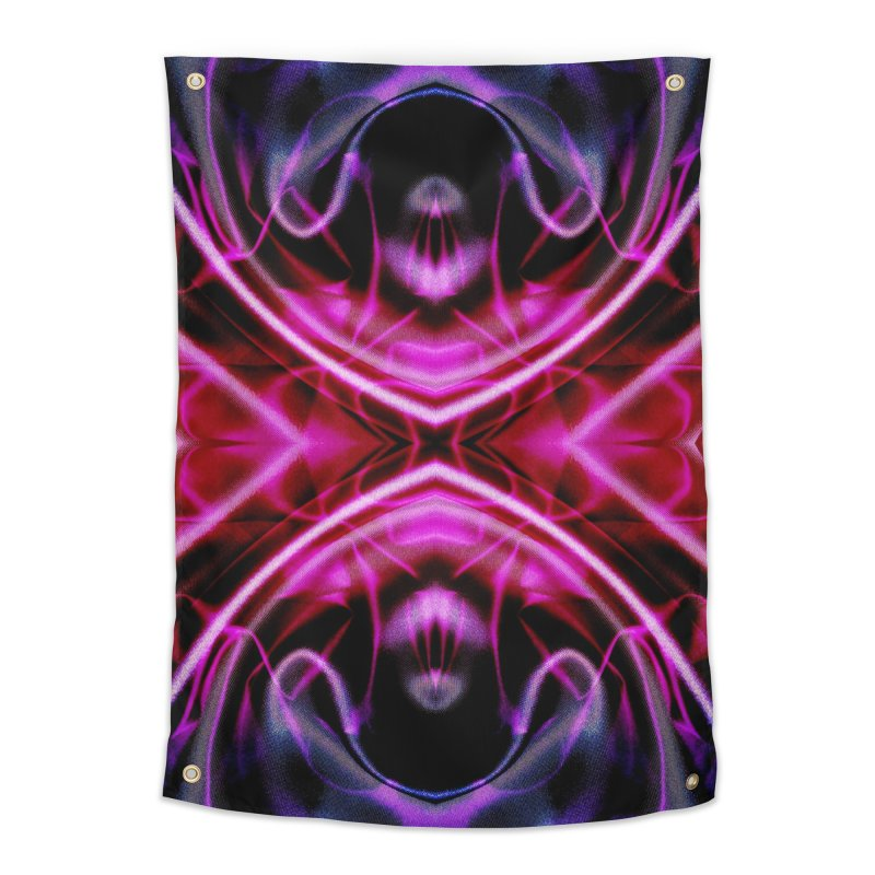 Neon Reflection Home Tapestry by foxandeagle's Artist Shop