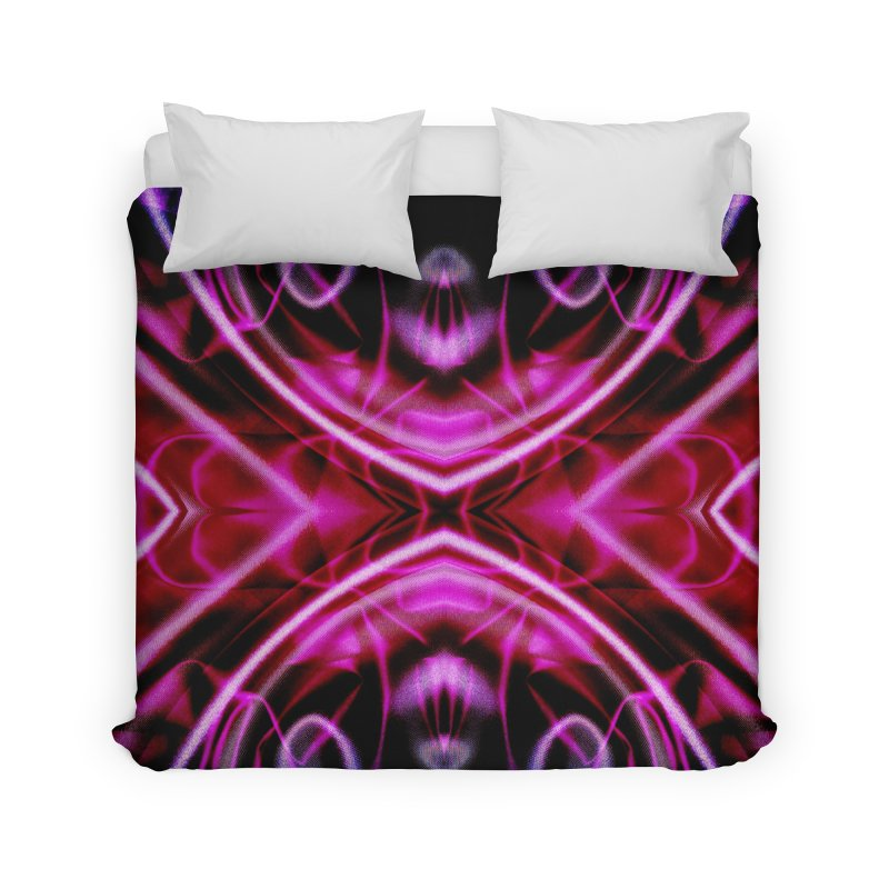 Neon Reflection Home Duvet by foxandeagle's Artist Shop