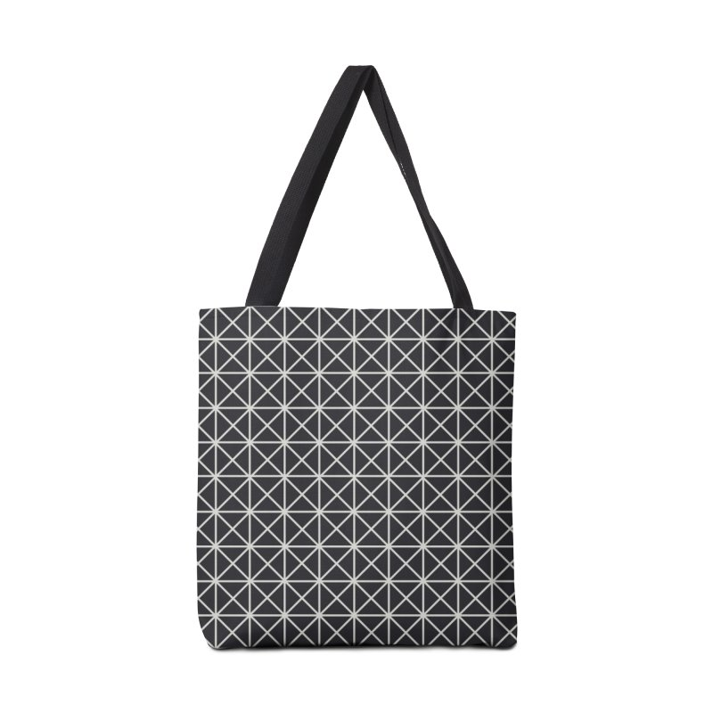 Prism Pattern Black Accessories Bag by foxandeagle's Artist Shop