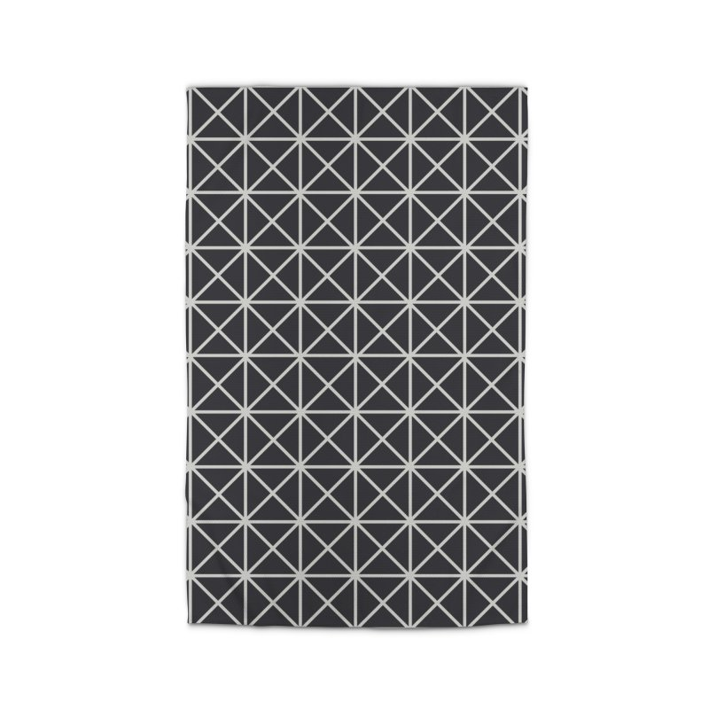 Prism Pattern Black Home Rug by foxandeagle's Artist Shop