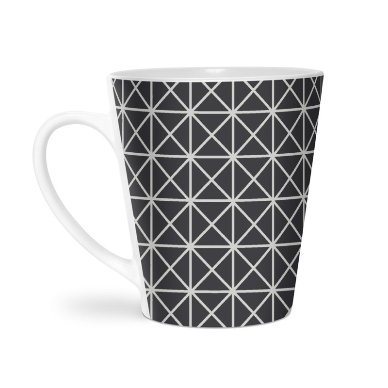 Prism Pattern Black Accessories Mug by foxandeagle's Artist Shop