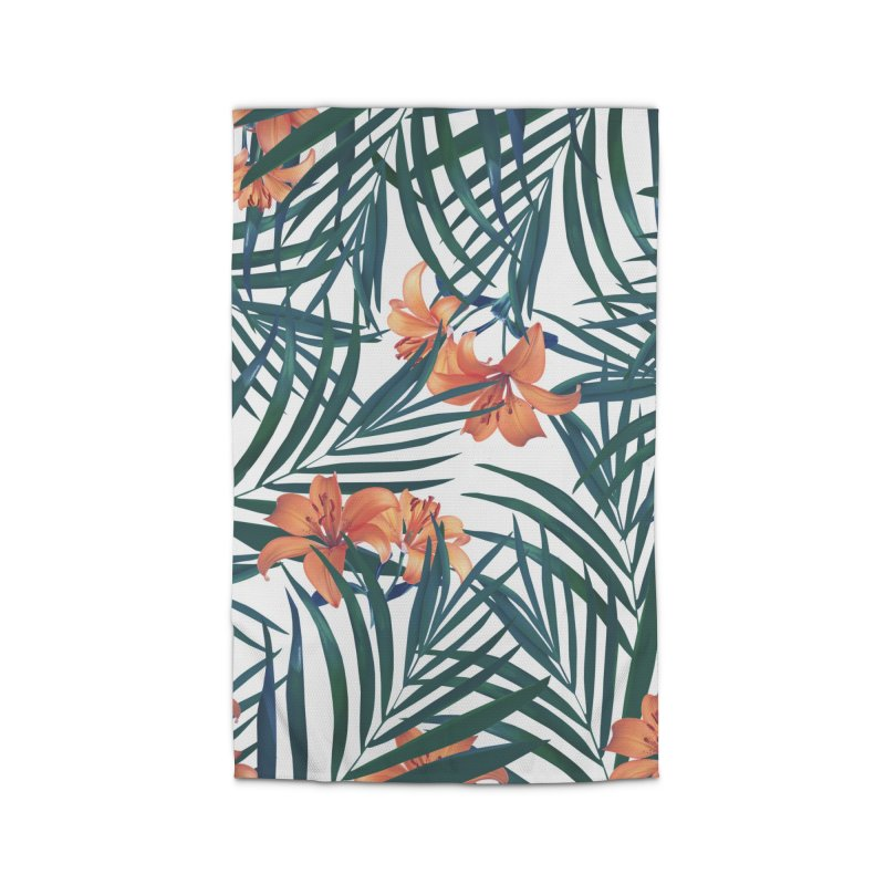 Tropical Lilies Home Rug by foxandeagle's Artist Shop