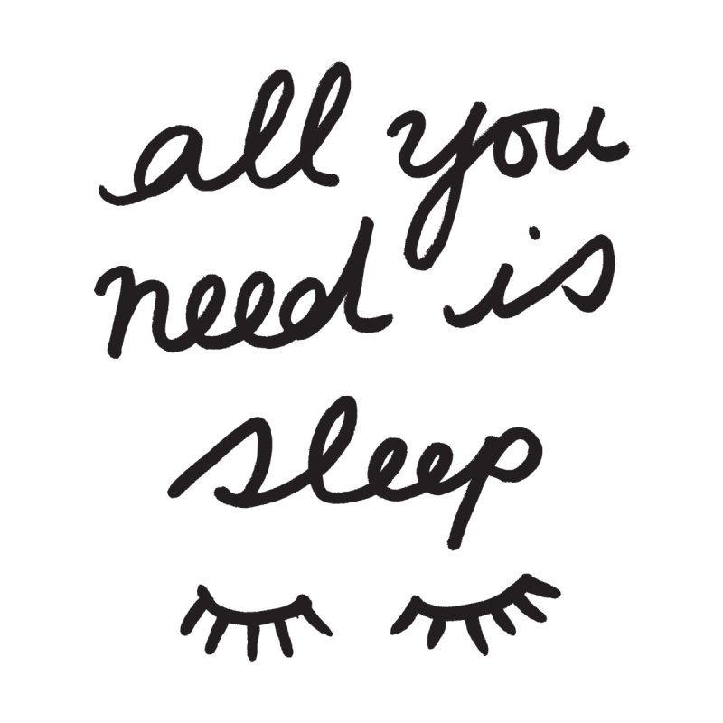 All You Need Is Sleep Home Rug by foxandeagle's Artist Shop