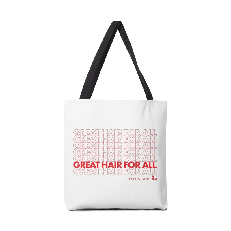 #GreatHairForAll Accessories Bag by foxandjane's Artist Shop
