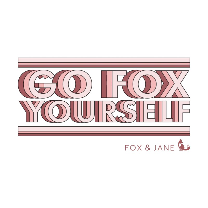 Go Fox Yourself Men's Pullover Hoody by foxandjane's Artist Shop
