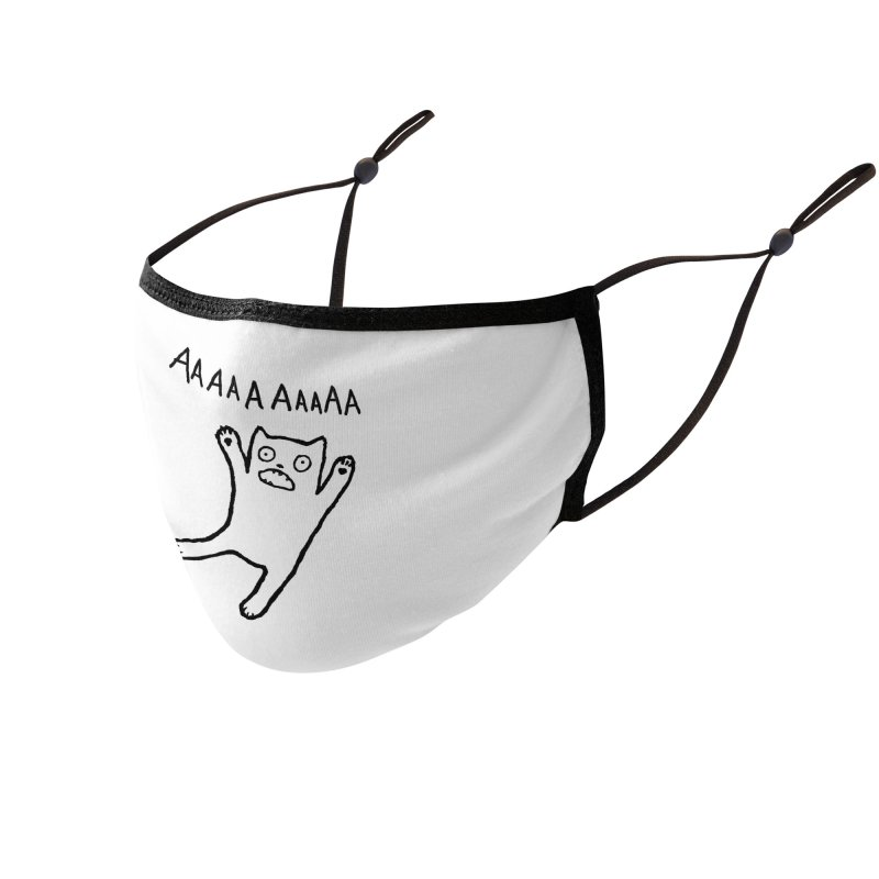 Adequate Expression of Feelings Accessories Face Mask by Fox Shiver