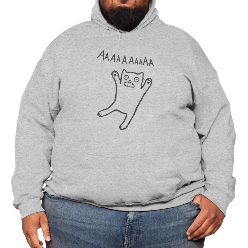 Adequate Expression of Feelings Men's Pullover Hoody by Fox Shiver