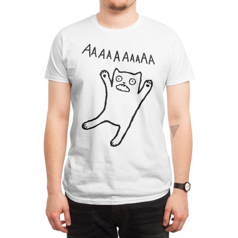 Adequate Expression of Feelings Men's T-Shirt by Fox Shiver