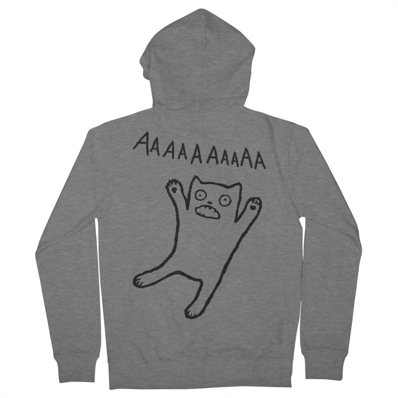 Adequate Expression of Feelings Men's Zip-Up Hoody by Fox Shiver