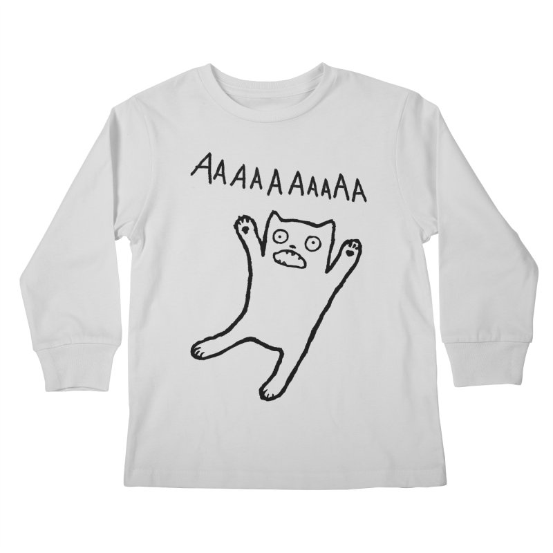 Adequate Expression of Feelings Kids Longsleeve T-Shirt by Fox Shiver