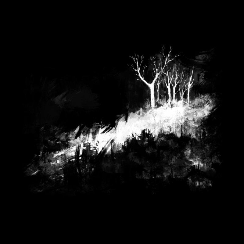 Dark Woods Men's Zip-Up Hoody by Fox Shiver