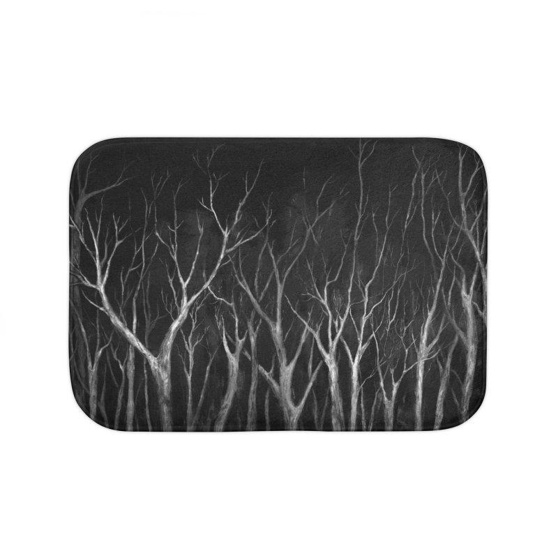Among Trees Home Bath Mat by Fox Shiver