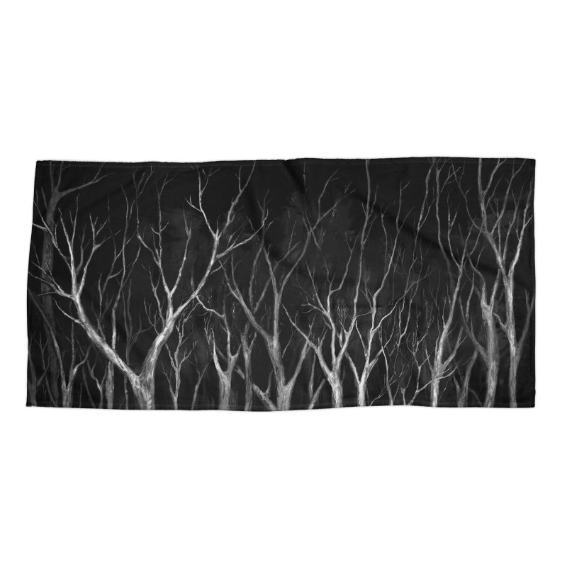 Among Trees Accessories Beach Towel by Fox Shiver