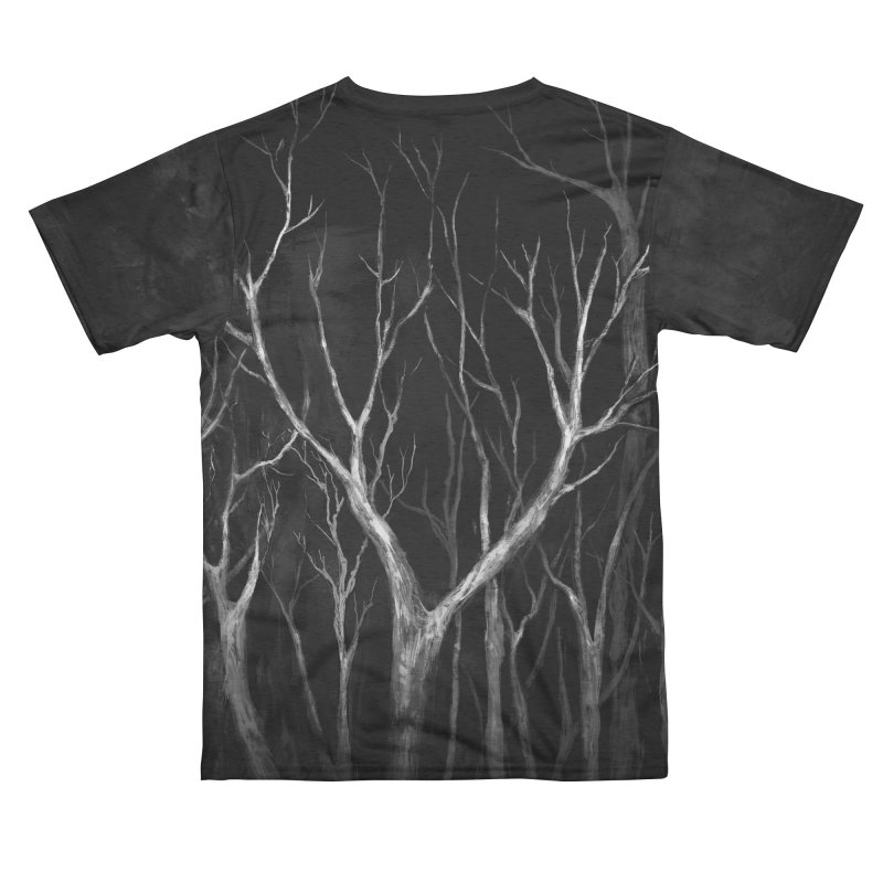 Among Trees Men's Cut & Sew by Fox Shiver
