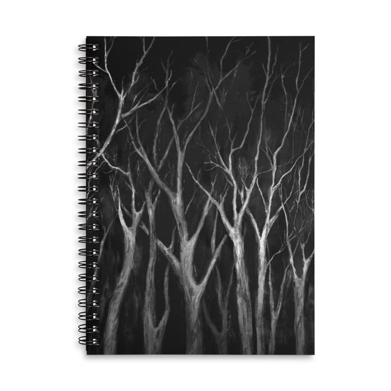 Among Trees Accessories Notebook by Fox Shiver