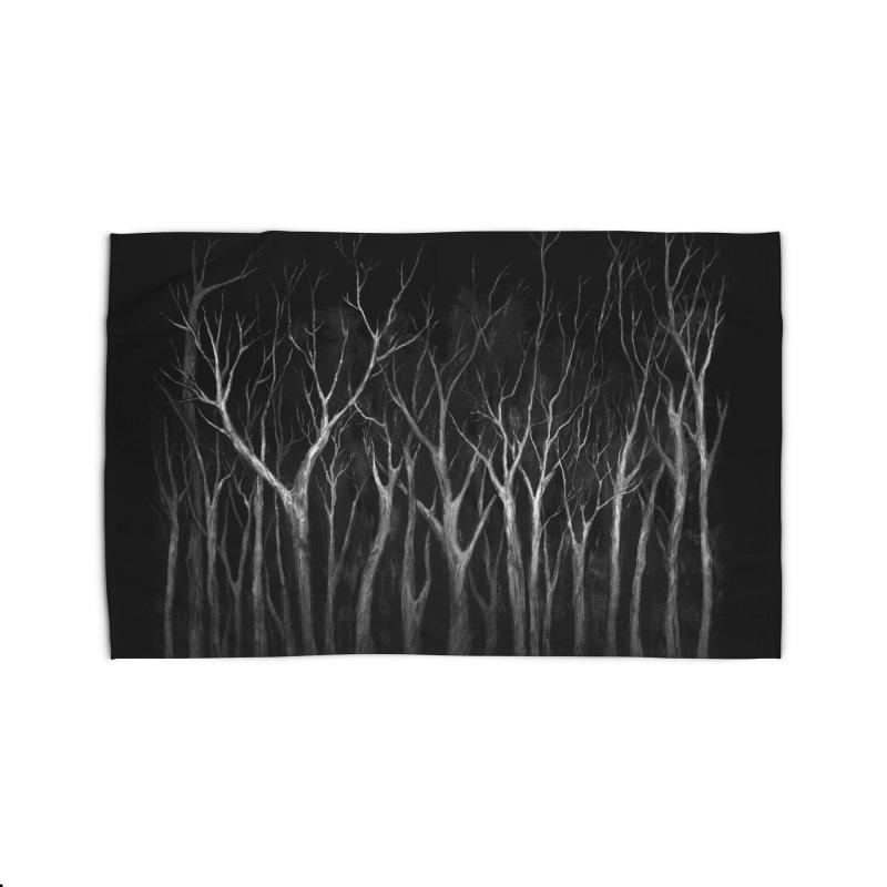 Among Trees Home Rug by Fox Shiver