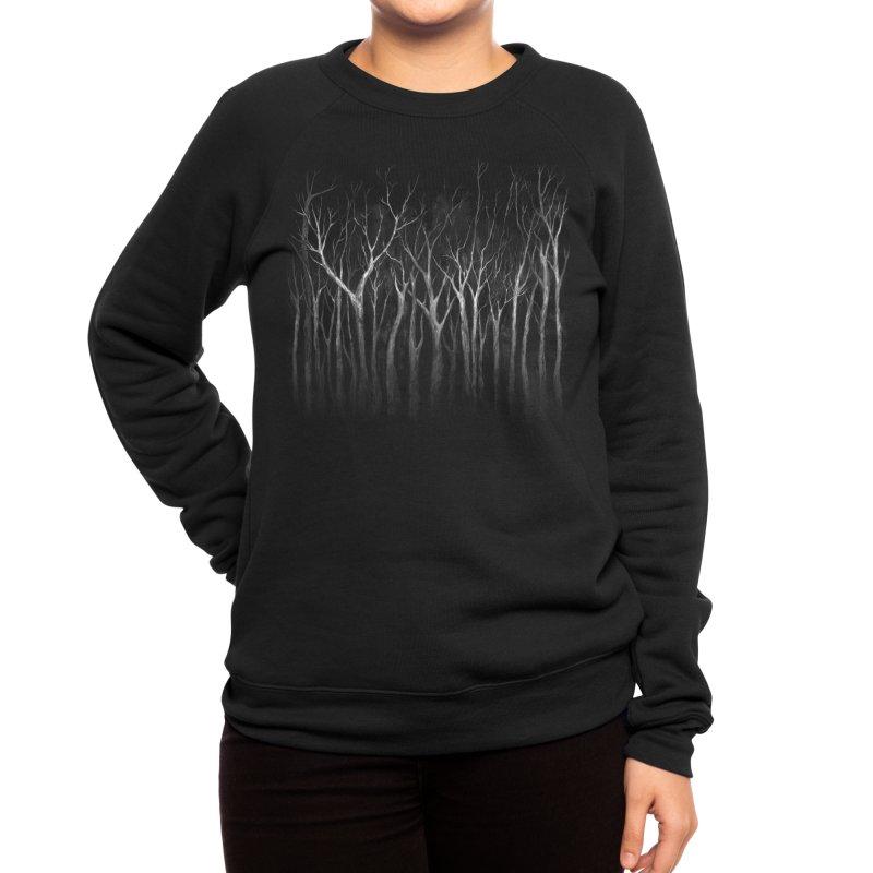 Among Trees Women's Sweatshirt by Fox Shiver