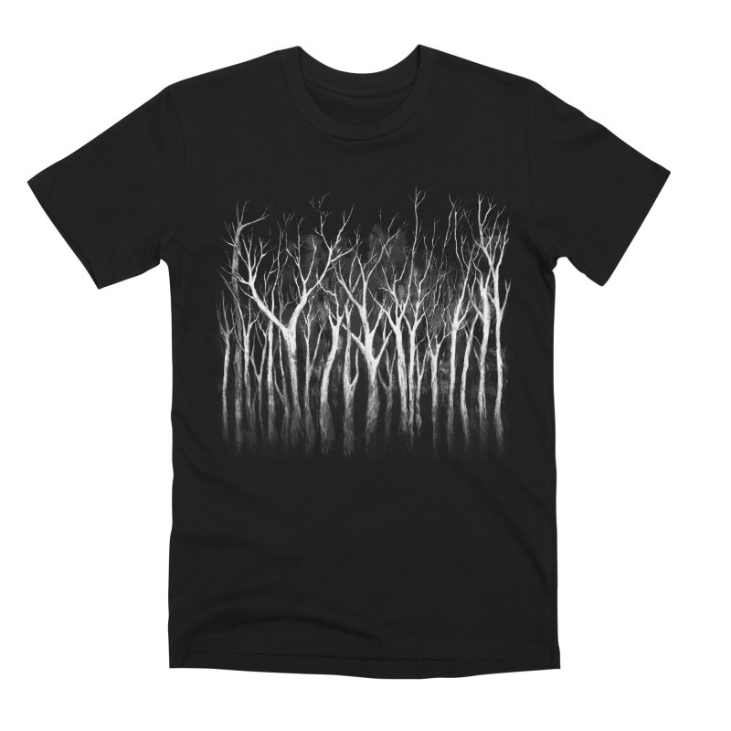 Among Trees Men's T-Shirt by Fox Shiver