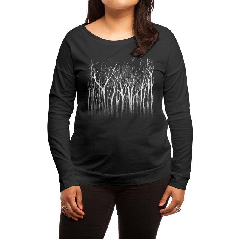 Among Trees Women's Longsleeve T-Shirt by Fox Shiver