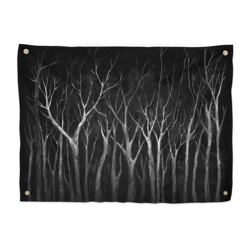 Among Trees Home Tapestry by Fox Shiver
