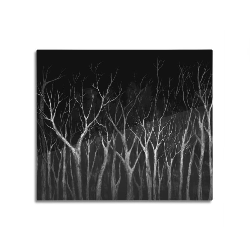 Among Trees Home Mounted Acrylic Print by Fox Shiver