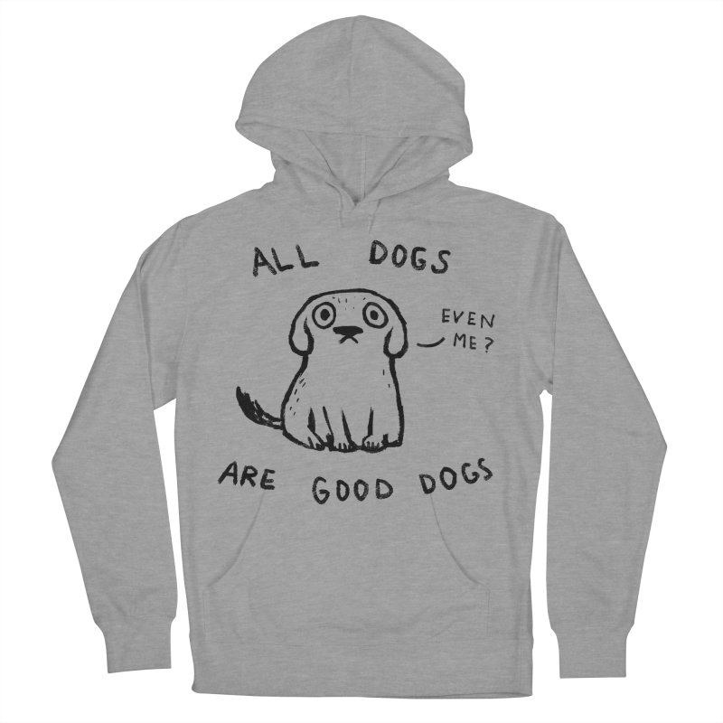 No Exceptions! Men's French Terry Pullover Hoody by Fox Shiver