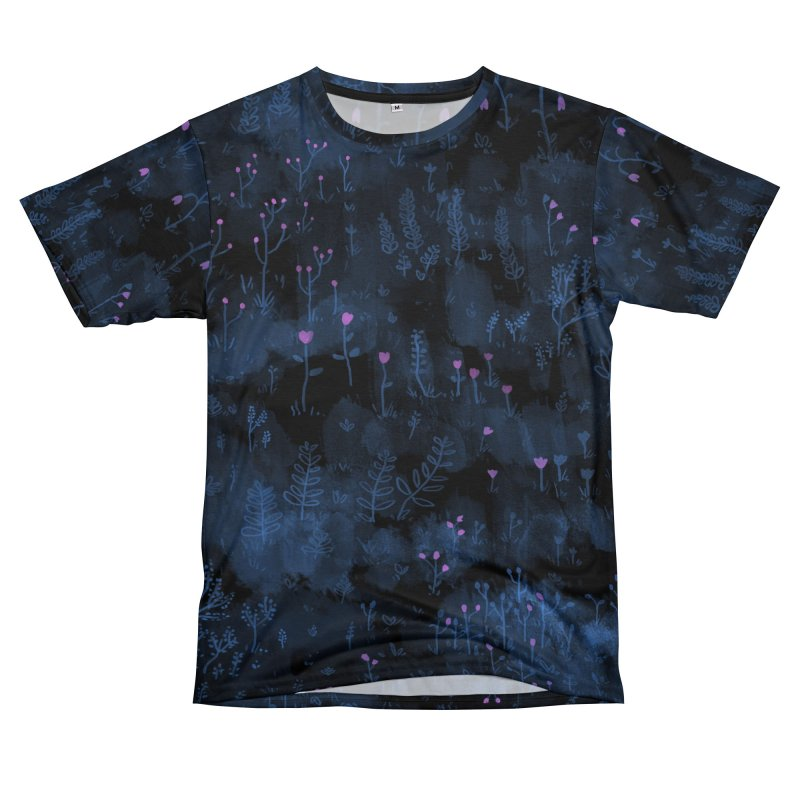 Wild Flowers Men's Cut & Sew by Fox Shiver