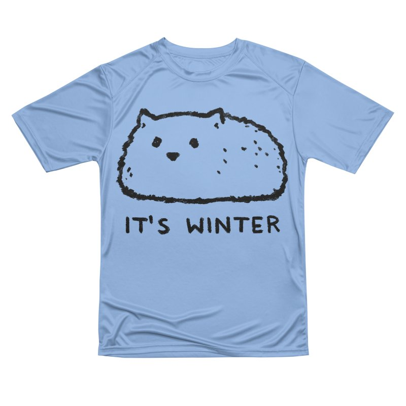 It's Winter Men's Performance T-Shirt by Fox Shiver