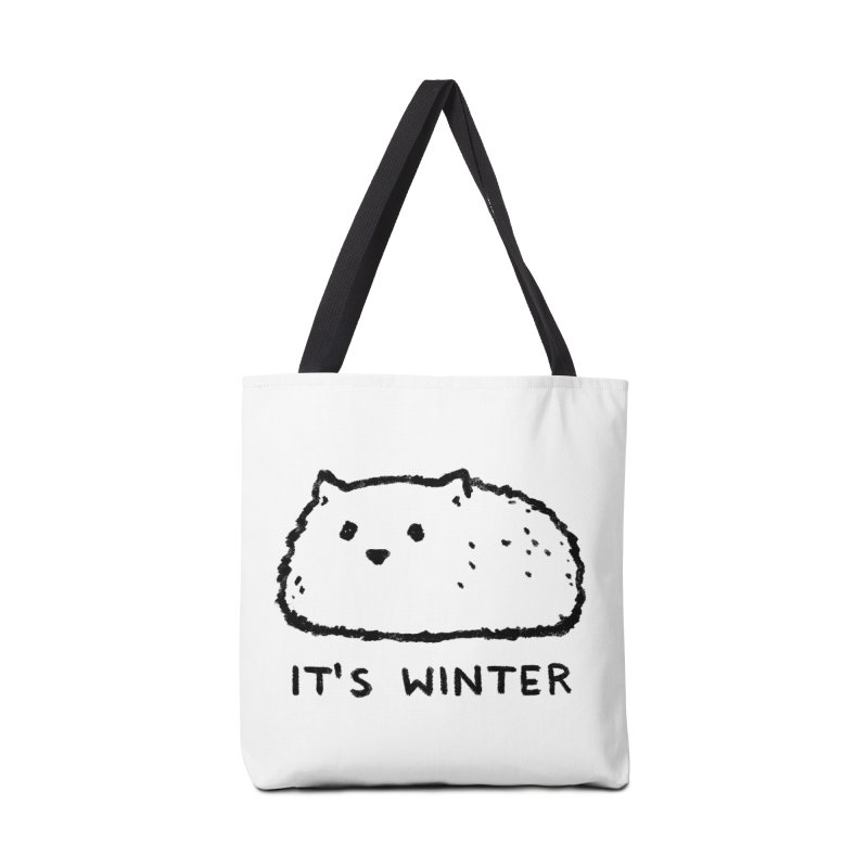 It's Winter Accessories Tote Bag Bag by Fox Shiver
