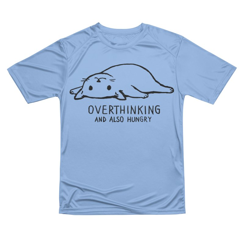 Overthinking and also hungry Women's T-Shirt by Fox Shiver