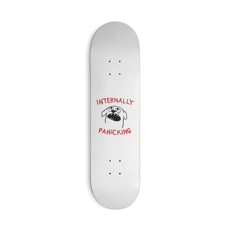 Projecting Calm Accessories Deck Only Skateboard by Fox Shiver
