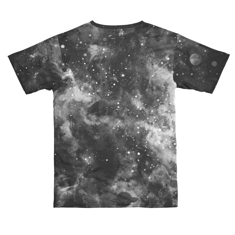 Space Painted Men's Cut & Sew by Fox Shiver