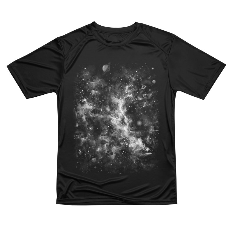 Space Painted Men's Performance T-Shirt by Fox Shiver