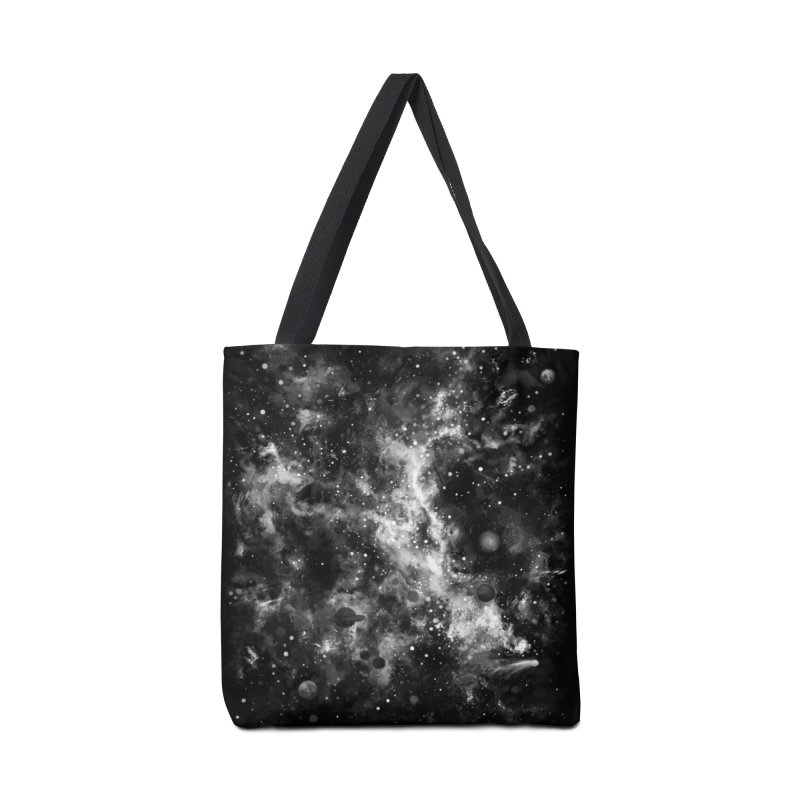 Space Painted Accessories Tote Bag Bag by Fox Shiver