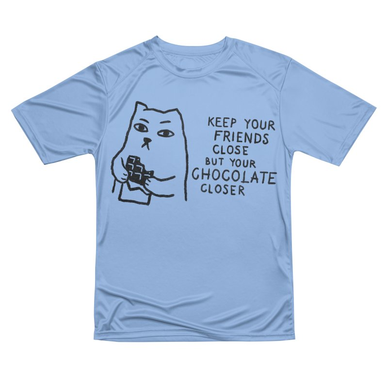 Chocolate Men's Performance T-Shirt by Fox Shiver