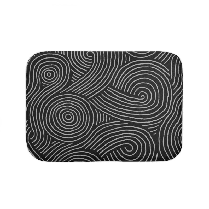 Zen Maze Home Bath Mat by Fox Shiver