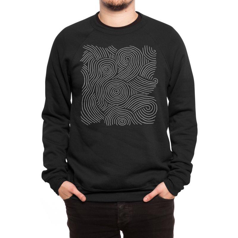 Zen Maze Men's Sweatshirt by Fox Shiver