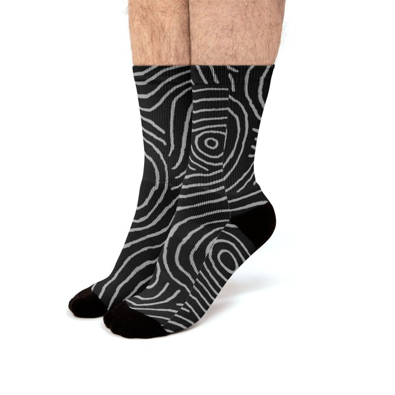 Zen Maze Men's Socks by Fox Shiver