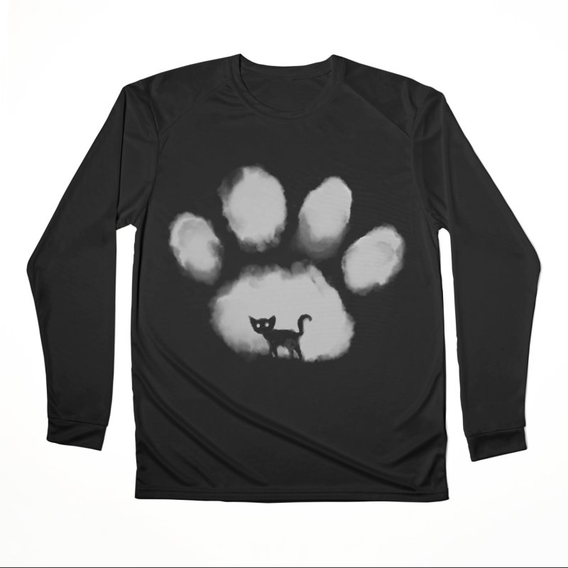 Human Cat Marked Women's Performance Unisex Longsleeve T-Shirt by Fox Shiver