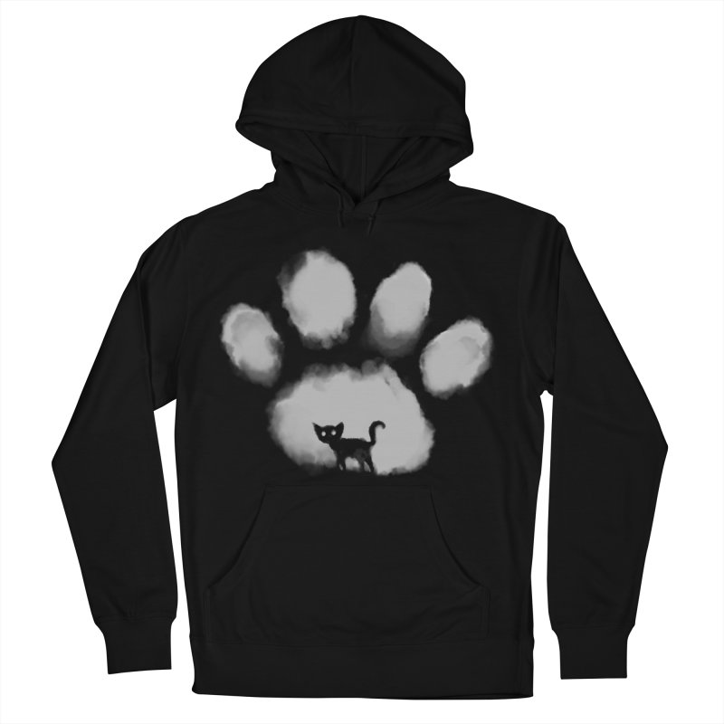 Human Cat Marked Men's French Terry Pullover Hoody by Fox Shiver