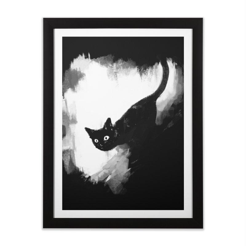 Jump Home Framed Fine Art Print by Fox Shiver