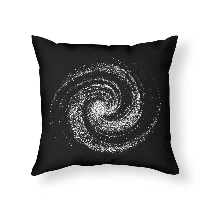 Galaxy Home Throw Pillow by Fox Shiver's Artist Shop