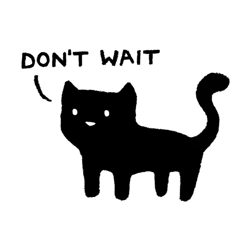 Don't Wait Accessories Sticker by Fox Shiver