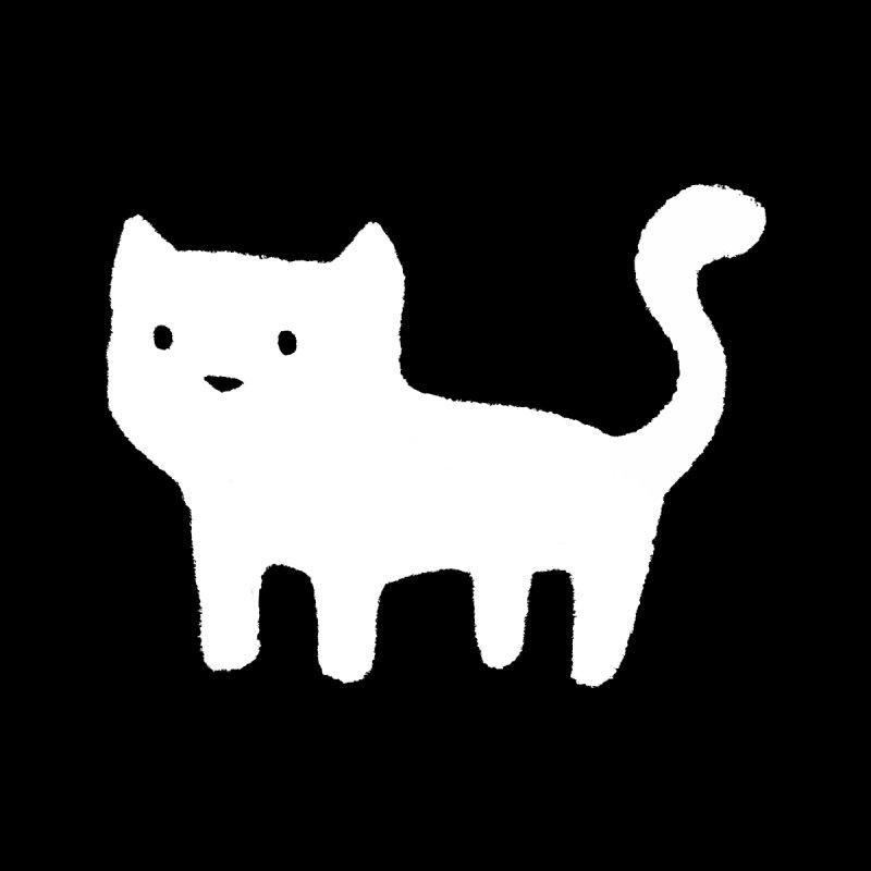 Minimal Cat Accessories Mug by Fox Shiver