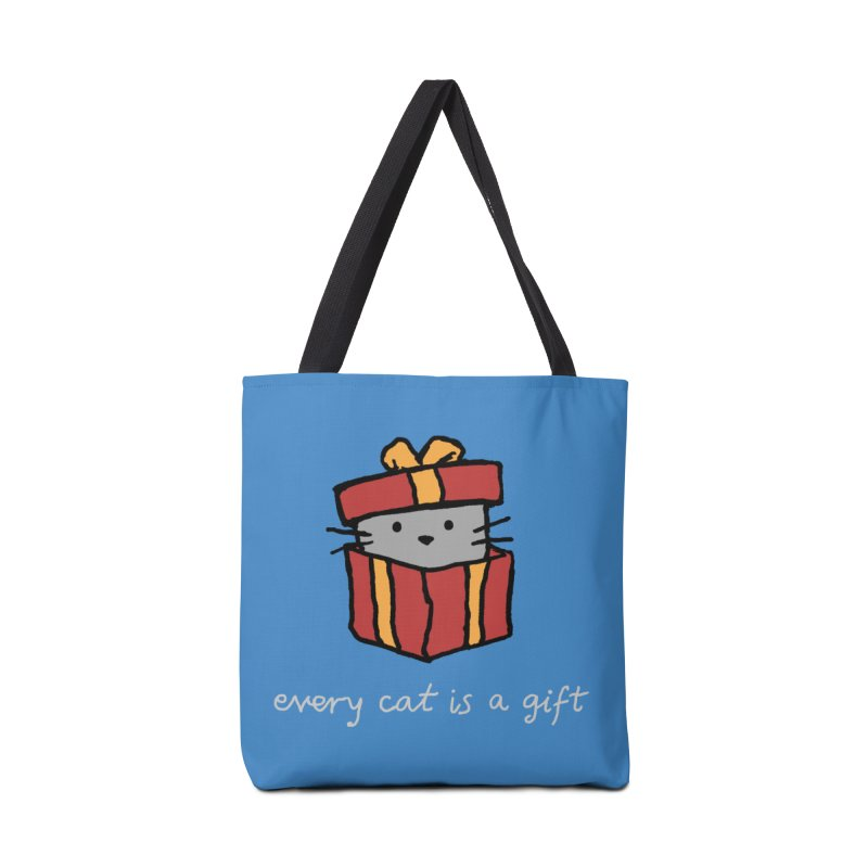 Every Cat is a Gift Accessories Bag by Fox Shiver