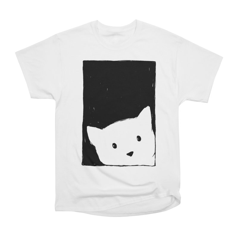 Cat Looking Out a Window Women's T-Shirt by Fox Shiver