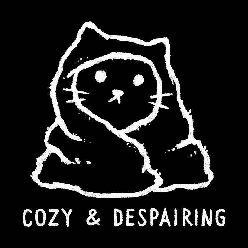 Cozy and Despairing Women's T-Shirt by Fox Shiver